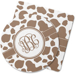 Cow Print Rubber Backed Coaster (Personalized)
