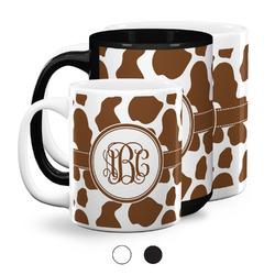 Cow Print Coffee Mugs (Personalized)