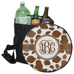 Cow Print Collapsible Cooler & Seat (Personalized)