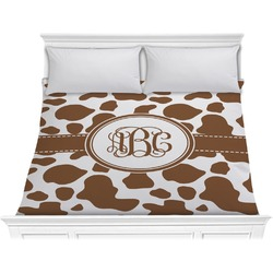 Cow Print Comforter - King (Personalized)
