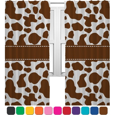 Cow Print Kitchen Curtains Fresh Milk Cow Country Style Curtain Drapery New Cow Print Spots
