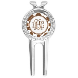 Cow Print Golf Divot Tool & Ball Marker (Personalized)
