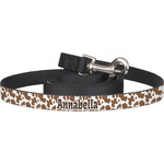Cow Print Dog Leash (Personalized)