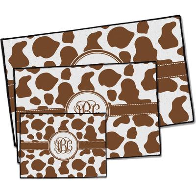 Cow Print Door Mat (Personalized)