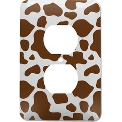 Cow Print Electric Outlet Plate (Personalized)