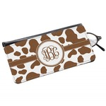 Cow Print Genuine Leather Eyeglass Case (Personalized)