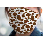 Cow Print Face Mask Cover (Personalized)