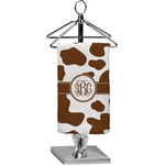 Cow Print Finger Tip Towel - Full Print (Personalized)