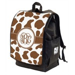 Cow Print Backpack w/ Front Flap  (Personalized)