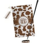 Cow Print Golf Towel Gift Set (Personalized)