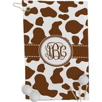 Cow Print Golf Towel - Full Print (Personalized)