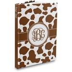 Cow Print Hardbound Journal (Personalized)