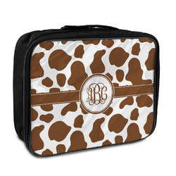 Cow Print Insulated Lunch Bag (Personalized)
