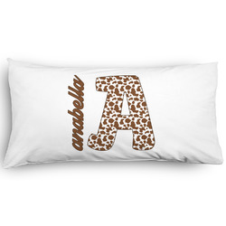 Cow Print Pillow Case - King - Graphic (Personalized)