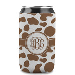 Cow Print Can Sleeve (12 oz) (Personalized)