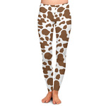 Cow Print Ladies Leggings (Personalized)