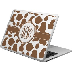 Cow Print Laptop Skin - Custom Sized (Personalized)