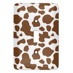 Cow Print Light Switch Covers (Personalized)