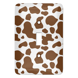 Cow Print Light Switch Covers - Multiple Toggle Options Available (Personalized)