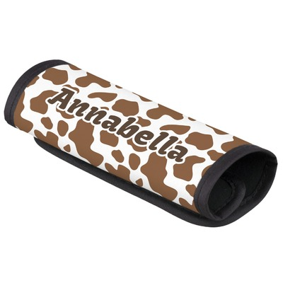 Cow Print Luggage Handle Cover (Personalized)