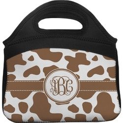 Cow Print Lunch Tote (Personalized)