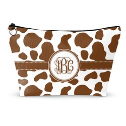 Cow Print Makeup Bags (Personalized)