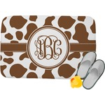 Cow Print Memory Foam Bath Mat (Personalized)