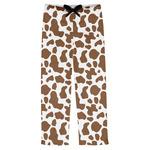 Cow Print Mens Pajama Pants (Personalized)