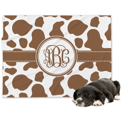 Cow Print Dog Bed