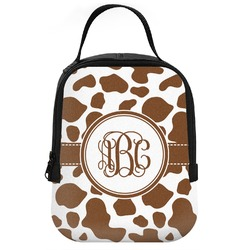 Cow Print Neoprene Lunch Tote (Personalized)