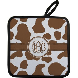 Cow Print Pot Holder (Personalized)