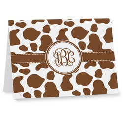Cow Print Note cards (Personalized)