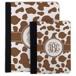 Cow Print Padfolio Clipboard (Personalized)