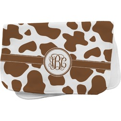 Cow Print Burp Cloth (Personalized)