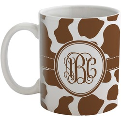 Cow Print Coffee Mug (Personalized)