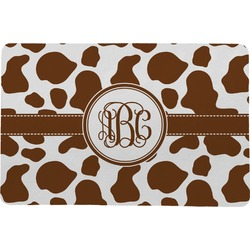 "Cow Print Comfort Mat - 18""x27"" (Personalized)"