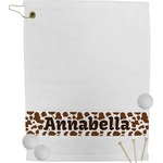 Cow Print Golf Towel (Personalized)
