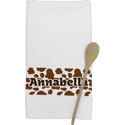 Cow Print Kitchen Towel (Personalized)