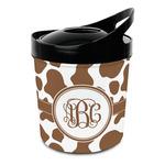 Cow Print Plastic Ice Bucket (Personalized)