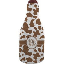 Cow Print Wine Sleeve (Personalized)