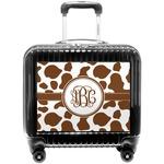 Cow Print Pilot / Flight Suitcase (Personalized)