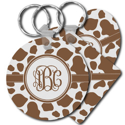 Cow Print Keychains - FRP (Personalized)