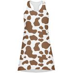 Cow Print Racerback Dress (Personalized)