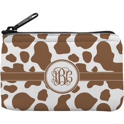 Cow Print Rectangular Coin Purse (Personalized)
