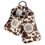 Cow Print Hand Sanitizer & Keychain Holder (Personalized)