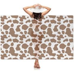Cow Print Sheer Sarong (Personalized)