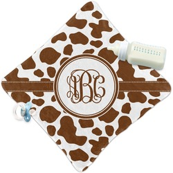 Cow Print Security Blanket (Personalized)