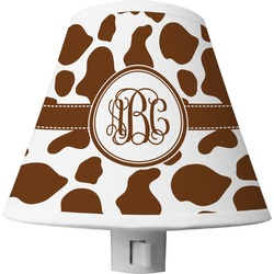 Cow Print Shade Night Light (Personalized)