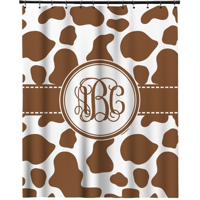 Cow Print Shower Curtain 70 X90 Personalized Rnk Shops