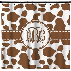 Cow Print Shower Curtain (Personalized)